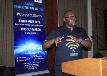 WWF Uganda Country Director David Duli (PHOTO/File)