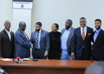 Led by Head of Delegation, Mark Anthony Hernandez the team made their grand entrance at Entebbe International Airport and were received by Abbey Kigozi, NRM Chairman –Diaspora league (PHOTO/Courtesy)