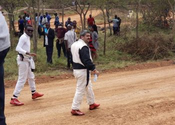 Rajiv seen here on the track in Mbarara on Saturday after a good outing on the track (PHOTO/PML Daily).