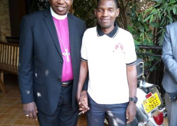 Rev. Isaac Mwesigwa, disappeared Sunday in Mukono and Archipbishop Stanly Ntagali. He has been been found alive. (PHOTO/Courtesy)