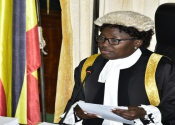 Kadaga warned the public against disrupting Parliament Business (PHOTO/File)