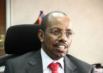 The Permanent Secretary/ Secretary to the Treasury, Keith Muhakanizi