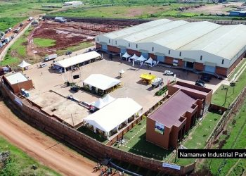 An aerial view of Namanve Industrial Park (PHOTO/File).