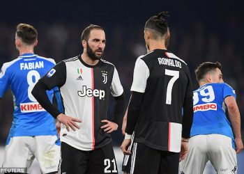Juventus lost 2-1 to Napoli in their last game. (PHOTO/Courtesy)