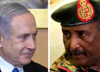 Israeli PM Benjamin Netanyahu and Sudan's Abdel Fatah al-Burhan (PHOTO/Courtesy)