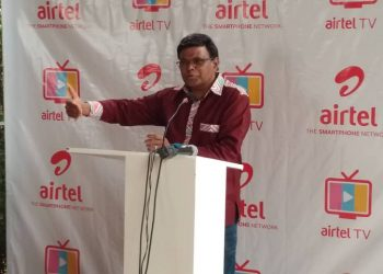Airtel Uganda Managing Director Mr. V.G Somasekhar noted that Airtel TV is the embodiment of convenient and affordable entertainment (PHOTO/File)