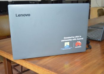 Uganda Revenue Authority (URA) in collaboration with Huawei has on Friday February 21, 2020 donated 20 laptops to Tororo Girls School (PHOTO/Courtesy)