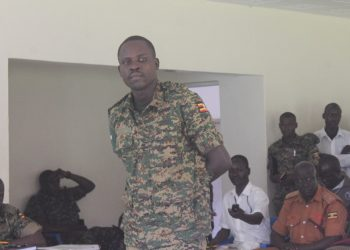 Lance Corporal Okello the suspect (PHOTO/David Okeam)
