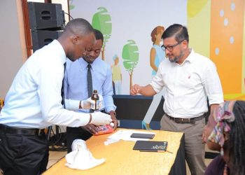 MTN's Somdev Sen says the new app helps clients to know how their bodies are behaving at any one time (PHOTO/PML Daily)