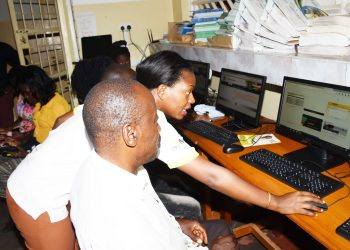 NITA Uganda's Stella Kobusingye further added that 100 government services are now available online, the passport office and UNEB being just two of them (PHOTO/Courtesy)