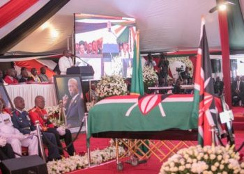 Kenya second President Moi has been laid to rest (PHOTO/Courtesy)