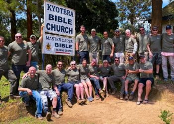 A team of Aquascape Foundation volunteers in Kyotera recently (PHOTO/Courtesy)