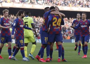Barcelona are just a point adrift of leaders Real Madrid. (PHOTO/Courtesy)