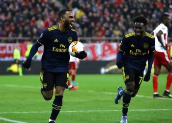 Arsenal defeated Olympiacos 1-0 in the first leg. (PHOTO/Courtesy)