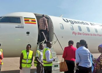 Uganda Airlines is set to start commercial flight to Kinshasa (PHOTO/File)