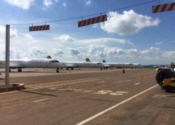 Entebbe International Airport was closed on orders of President Museveni over coronavirus fears (PHOTO/Courtesy).