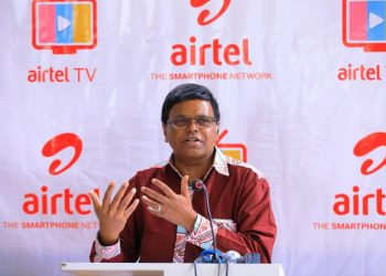 Airtel Uganda Managing Director Mr. V.G. Somasekhar (PHOTO/File)