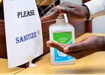 The ministry of health has always encouraged Ugandans to ensure proper handwashing with water and soap to neutralise the germs (PHOTO/File).