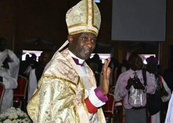 Archbishop Steven Kaziimba has condemned the demolition of Ndeeba Church (PHOTO/Courtesy)