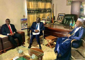 Erias Lukwago, Dr Kiiza Besigye and