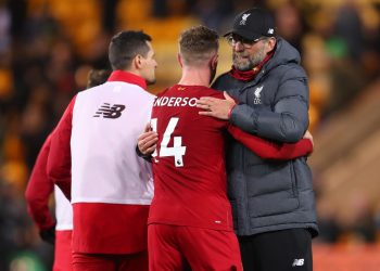 Liverpool will have captain Jordan Henderson return from injury on Wednesday. (PHOTO/Courtesy)