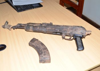 Recovered gun (PHOTO/Courtesy).