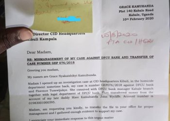 Ms. Kamuhanda has asked CID Director Grace Akullo to transfer the matter to her office (PHOTO/PML Daily)