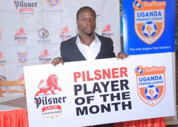 Ssentongo was named player of the month of February on Monday. (PHOTO/Courtesy)