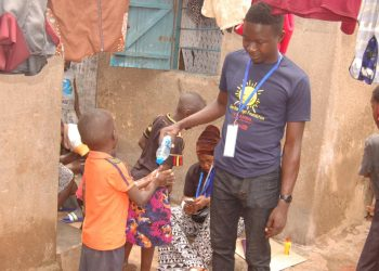 Guardian Angel Foundation helping slum children (PHOTO/Courtesy)