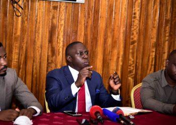 MPs; Allan Ssewanyana, Muhammad Nsereko and Moses Kasibante want Museveni to stimulate economy (PHOTO/PML Daily).