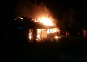 Fire guts Gayaza High School (PHOTO/Daily Monitor).