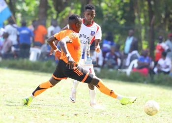 Action between Tooro United FC and SC Villa on Saturday. (PHOTO/Courtesy)