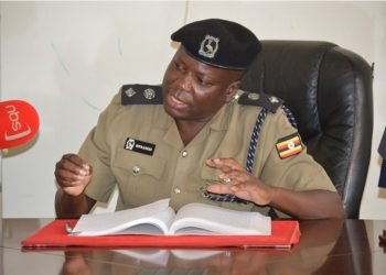 Kampala Metropolitan Police media boss Patrick Onyango (PHOTO/File)