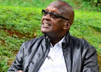 Lt Gen Henry Tumukunde, the former security minister earlier this week revealed his ambition of contesting for president (PHOTO/File).