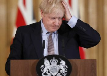 Britain's Prime Minister Boris Johnson is admitted with persistent coronavirus symptoms (PHOTO/File)