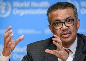 Director-General of the World Health Organization (WHO) Tedros Adhanom Ghebreyesus (PHOTO/File)