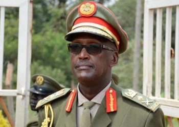 Lt.Gen. Henry Tumukunde has reportedly been arrested by army officers at his office in Kololo (PHOTO/File)