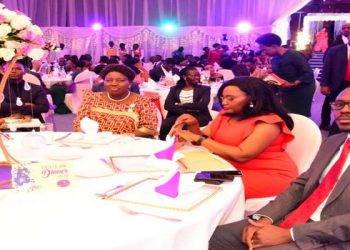 The Speaker (C) at the UCU Law Dinner at the Kampala Serena Hotel (PHOTO/Courtesy).