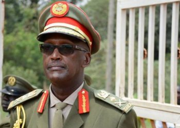 Presidential aspirant Lt.Gen. Henry Tumukunde was arrested by army officers at his office in Kololo (PHOTO/File)