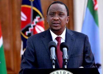 Kenyan President Uhuru Kenyatta (PHOTO/Agencies )