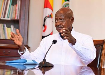 President Yoweri Museveni has ordered the ministry of works to give stickers to Media people during lockdown (PHOTO/File)
