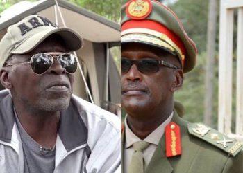 Maj Gen Kasirye Ggwanga and Lt Gen Henry Tumukunde respectively (PHOTO/File).
