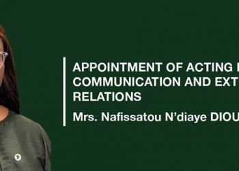 Nafissatou, a Senegalese national, is currently a Division Manager in the Communications and External Relations Department of the African Development Bank Group (PHOTO/Courtesy).