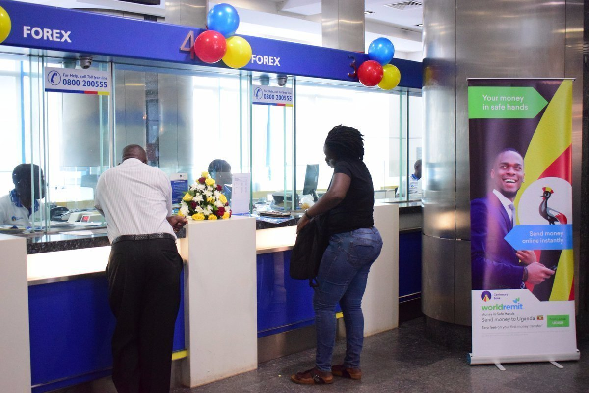 Centenary Bank waived off charges on its digital channels to allow customers access their money at a cheaper cost amidst the COVID-19 situation (PHOTO/File)