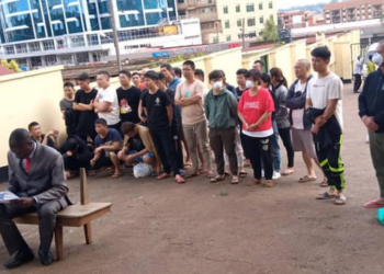 Police nabbed 37 Chinese nationals in Uganda that were involved in activity related to cyber-crime (PHOTO/File)