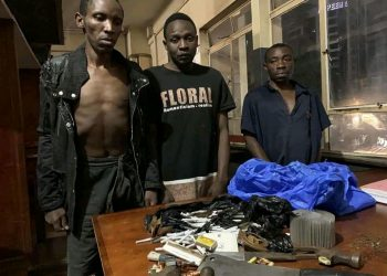 The arrested suspended robbers (PHOTO/Courtesy).