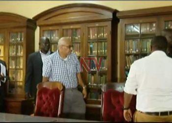 Tycoon Abid Alam has been arrested over Mubende raid at the weekend (PHOTO/NTV Uganda).