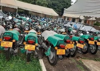 Motorcycles bought by the government to distribute to the ISO officers (PHOTO/Courtesy).