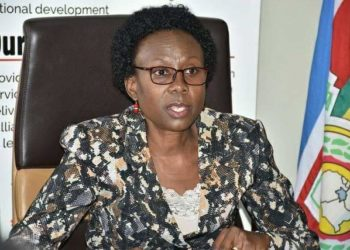 Health Minister Dr. Jane Ruth Aceng ( PHOTO/File)