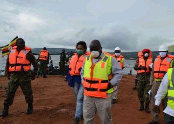 Minister Katumba Wamala visiting